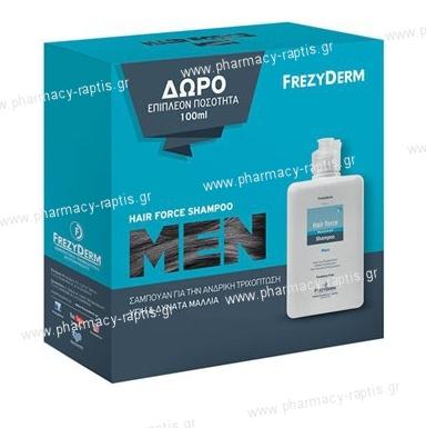 Frezyderm Hair Force Shampoo Men 200ml + ΔΩΡΟ 100ml ...