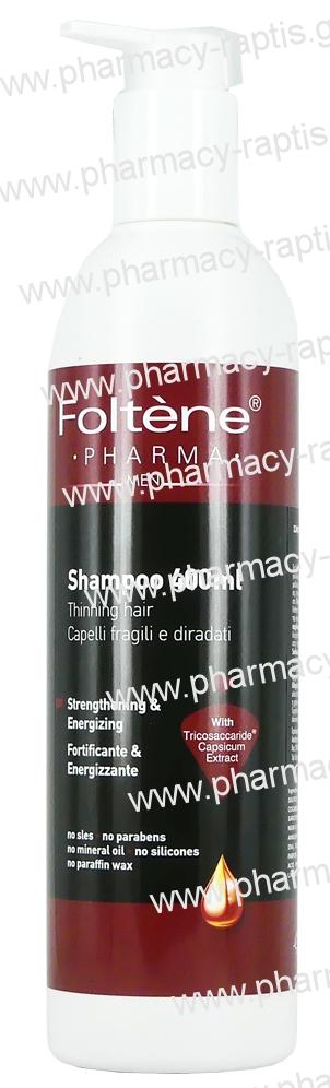 Foltene Shampoo Men 400ml SLES Free Ανδρικό Σαμπουάν...