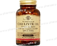 Solgar Norwegian Cod Liver Oil softgels 100s
