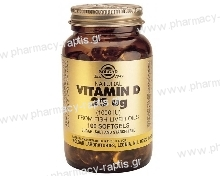 Solgar Vitamin D3 1000 IU softgels 100s