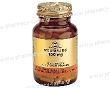 Solgar Vitamin B-6 100mg veg.caps 100s