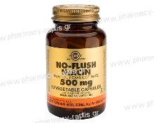 Solgar No-Flush Niacin 500mg veg.caps 50s