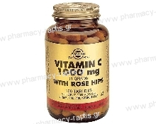 Solgar Vitamin C με Rose Hips 1000mg tabs 100s