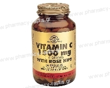 Solgar Vitamin C με Rose Hips 1500mg tabs 90s