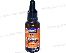 Now Foods Liquid Vitamin D-3 1000IU/σταγόνα Extra Strength 28,4ml