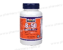 Now Foods Vitamin B-50 Complex 100 Caps