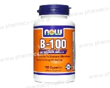 Now Foods Vitamin B-100 Complex 100 Caps