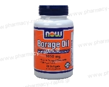 Now Foods Borage Oil 1000mg (240mg GLA) 60 softgels