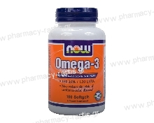 Now Foods Omega-3 1000mg 100 S.Gels