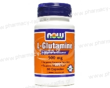 Now Foods L-Glutamine 500mg 60 Caps