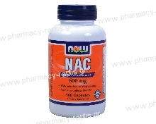 Now Foods NAC 600mg 100 Vcaps