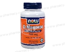 Now Foods D-Mannose 500mg 120 Caps