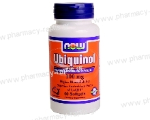 Now Foods Ubiquinol 100mg 60 Softgels