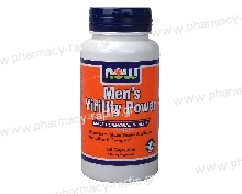 Now Foods Men's Virility Power 60 Caps