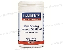 Lamberts Evening Primrose Oil 1000mg 90caps (Ωμέγα 6)