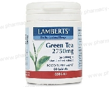 Lamberts Green Tea 2750mg 60 tabs (Πράσινο Τσάι)