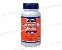 Now Foods Saw Palmetto 550mg 100 caps