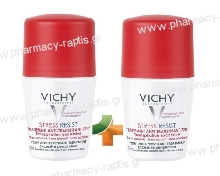 Vichy Deodorant Stress Resist 72h Roll-on 50ml (Double Pack)