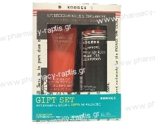 Korres Set Aftershave Balm 125ml + ΔΩΡΟ Αφρόλουτρο 250ml Vetiver Root, Green Tea, Cedarwood