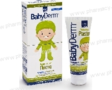 Intermed Babyderm Protective paste 125ml Πάστα ανακούφισης & προστασίας με ZnO