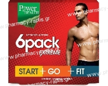 Power Health 6pack Extreme 90caps Start+Go+Fit Συνδιαστική Αγωγή Αδυνατίσματος για Άνδρες