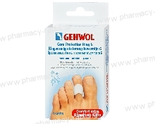 Gehwol Gehwol Toe Protection Ring G Medium 30mm 2τμχ + 1 σακουλάκι foot powder 4gr