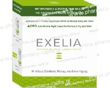 Exelia Anti-Wrinkle & Firming Day Cream SPF15 for Normal-Dry skin 50ml+ΔΩΡΟ Exelia Anti-Wrinkle Night Cream for normal skin 50ml