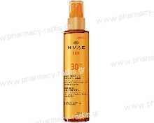 Nuxe Tanning Oil for Face and Body SPF30 150ml Λάδι Μαυρίσματος για Πρόσωπο/Σώμα με Χαμηλή Προστασία