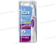 Oral-B Vitality CrossAction Colour Edition Pink Επαναφορτιζόμενη Ηλεκτρική Οδοντόβουρτσα