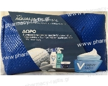 Vichy Set Aqualia Thermal Dry 50ml & Δώρο Ιαματικό Νερό 50ml & Purete Thermale Fresh Gel 15ml & Aqualia Thermal Night Spa 15ml