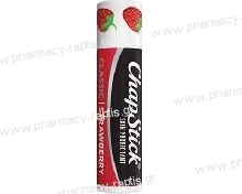 Chapstick Classic Strawberry Lip Care Stick SPF10 4gr