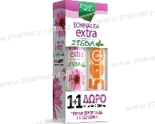 Power Health Echinacea Extra με Στέβια 24 αναβράζοντα δισκία + ΔΩΡΟ Vit C 500mg 20eff.tabs