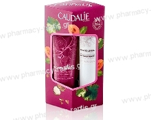 Caudalie Winter Duo The de Vignes Hand And Nail Cream Κρέμα χεριών 30ml + Lip Conditioner 4.5g