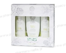 Natura Siberica White Cedar hair care kit full size Copenhagen Λευκός Κέδρος, Σαμπουάν & Conditioner 250ml + Μάσκα μαλλιών 200ml