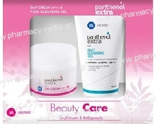 Panthenol Extra Promo Beauty Care Day Cream SPF15 50ml + Face Cleansing Gel 150ml