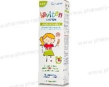 Lavipharm Laviten System Anti Lice Solution 125ml + Χτενάκι Laviten