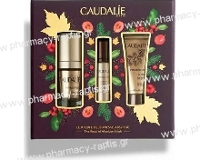 Caudalie Absolute Anti-Aging Solution Set with Premier Cru The Eye Cream - Αντιγηραντική Κρέμα Ματιών, 15ml & Δώρο The Serum - .