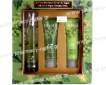 Caudalie Set Fleur de Vignes Fresh fragrance 50ml & Δώρο Shower gel 50ml & Body lotion 50ml