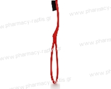 Intermed Ergonomic Toothbrush 4600 Filaments Red Soft