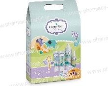 Pharmasept Promo Pack Ολοκληρωμένη Φροντίδα για το Μωρό με Baby Care Mild Bath, 500ml & Baby Extra Calm Cream, 150ml & Baby Nat.