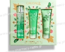 Caudalie Eau Des Vignes Fresh Fragrance 50ml & Body Lotion 50ml & Shower Gel 50ml